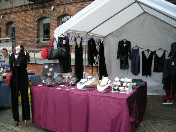 Marktstand Kunsthandwerkermarkt