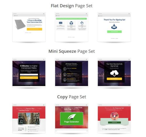Landingpage Design Themes 2