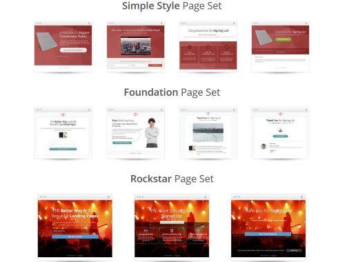 Landingpage Design Themes 3