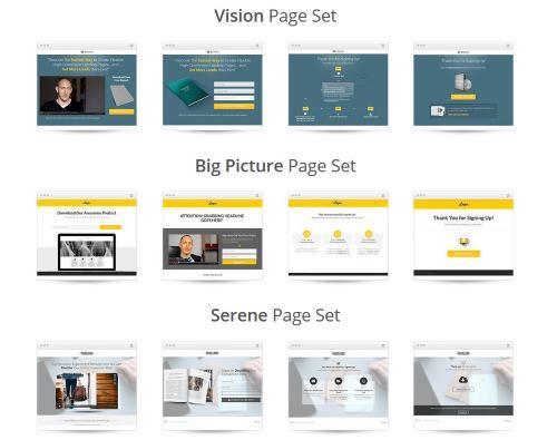 Landingpage Design Themes