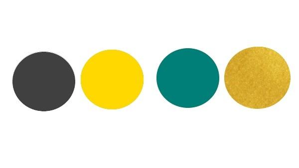 Beispiel Farbkombinationen