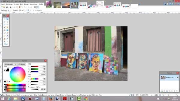 Farben finden mit paint.net